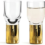 sagaform Club Shot Glass gold - Set of 2 - 1 set
