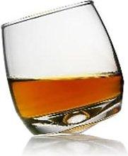 Sagaform - Set of 6 Rocking Whiskey Glasses - Glass