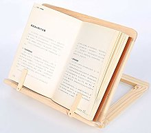 SagaSave Bamboo Cookbook Stand | Collapsible