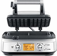 Sage BWM620UK the Smart Waffle Maker - Silver