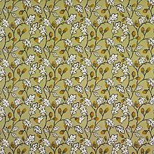 Sage Green Acorns and Leaves Oilcloth Wipeclean