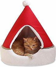 Sahgsa Teepee Tent For Pets, Cat Tent Pet Bed Pet