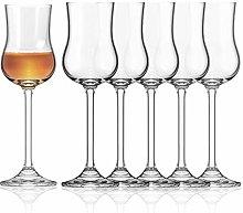 Sahm Grappa Glasses Set of 6 | 85 ml Grappa