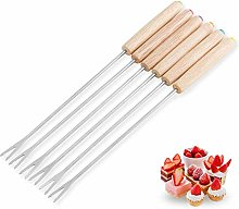 sahnah Stainless Steel Chocolate Fork Hot Pot