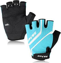 Sahoo - MTB Sport Bike Half Finger Cycling Gloves