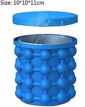 SAIBAO Silicone Ice Cube Maker Portable Bucket