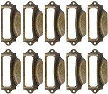 Saim Antique Drawer Label Pulls Cabinet Frame