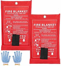 SAINUOD Fire Blanket Emergency for Kitchen,