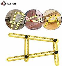 Saker Angle Measuring Tool - Easy Angle Ruler -