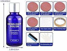 sakulala Car Headlight Polish Liquid,30ml Cars