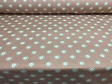 Sala Panama Cotton Blush Pink 140cm Curtain Fabric