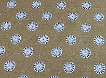 Sala Panama Cotton Ochre Yellow 140cm Curtain