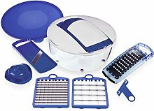 Salad Chef Express by Genius | 7 pieces | blue |