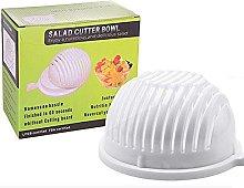 Salad Cutter Bowl 60 Seconds Salad Maker Easy