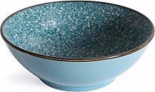 Salad Serving Dish 2pcs Ceramic Soup Noodle Bowl
