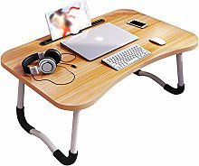 Saladplates-LXM Lap Desk, Laptop Table, Foldable