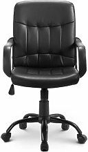 (Sale) Office Chair, Faux Leather,