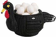 Saleen Berta Decoration Basket Hen, polypropylene,