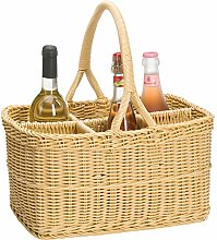 Saleen Bottle Rectangular Basket, polypropylene,
