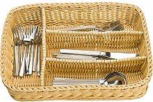 Saleen Cutlery Basket, polypropylene, Light Beige,
