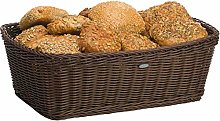 Saleen Rectangular Basket, Brown, 46 x 33 x 16 cm