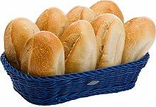 Saleen Rectangular Basket, Navy Blue, 26.5 x 19 x