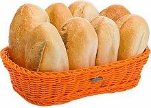 Saleen Rectangular Basket, polypropylene, Orange,