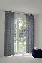 Salguero Eyelet Room Darkening Single Curtain