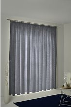 Salguero Pencil Pleat Blackout Single Curtain
