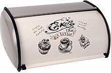 Sally Stella Bread Bin- Retro Metal Bread Storage