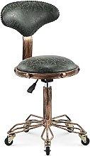 Salon Massage Stool Chair Stool Retro Bar Chair,