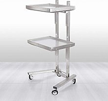 Salon Storage Trolley,New Stainless Steel Hair