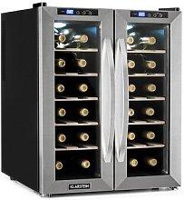 SaloonNapa Wine Cooler 67L 2 Glass Doors 11-18°C