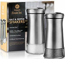 Salt and Pepper Shakers - Spice Dispenser with