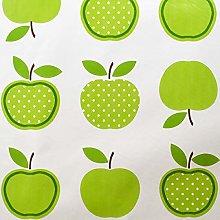 SALT and PEPPY, Wipe Clean PVC Green Apples Vinyl