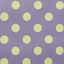 SALT and PEPPY, Wipe Clean PVC Lilac Polka Dot