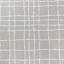 SALT and PEPPY, Wipe Clean PVC Plaid Natural Vinyl
