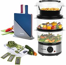 Salter COMBO-5120 Healthy Cooking 3-Tier Food Rice