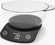 Salter Electronic Kitchen Scale & 1.8L Bowl, 5kg