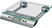 Salter Glass Kitchen Scale - Silver