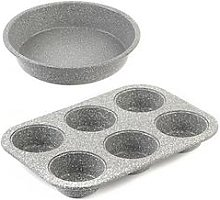 Salter Marble Collection 24 Cm Baking Pan And