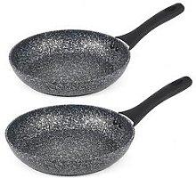 Salter Megastone 2-Piece Frying Pan Set