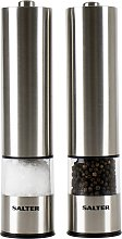 Salter Stainless Steel Electronic Salt and Pepper