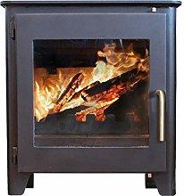 Saltfire ST1 Vision Wood Burner Stove 5kW DEFRA