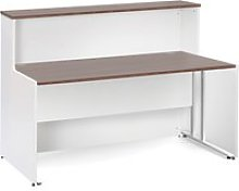Salute C-Leg Reception Desk, 146wx89dx113h (cm),
