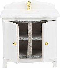 SALUTUYA Furniture 1:12 Sink Model Doll House
