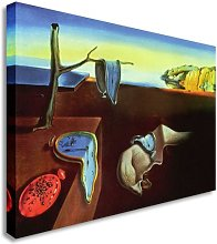 Salvador Dali - The Persistence Of Memory Canvas