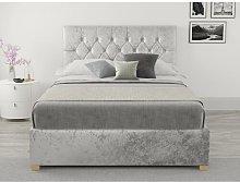 Samaira Upholstered Ottoman Bed Hashtag Home