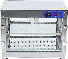 Samger 2 Tier Warmer Display Case Commercial Food