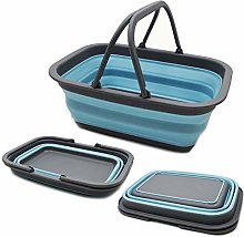 SAMMART 9.2L (2.37Gallon) Collapsible Tub with